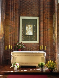 The relics of St. Ursula in Pniewy/ Poland